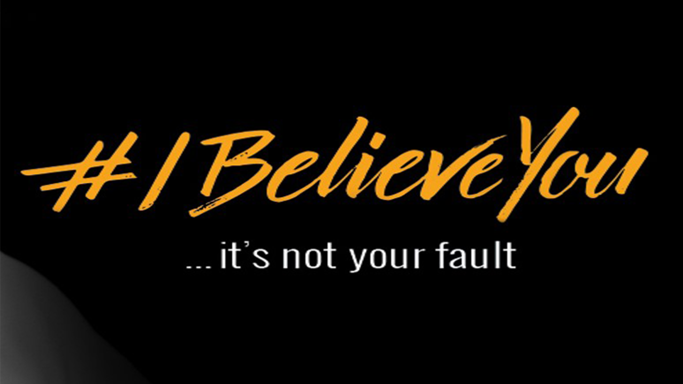 #IbelieveYou campaign sign