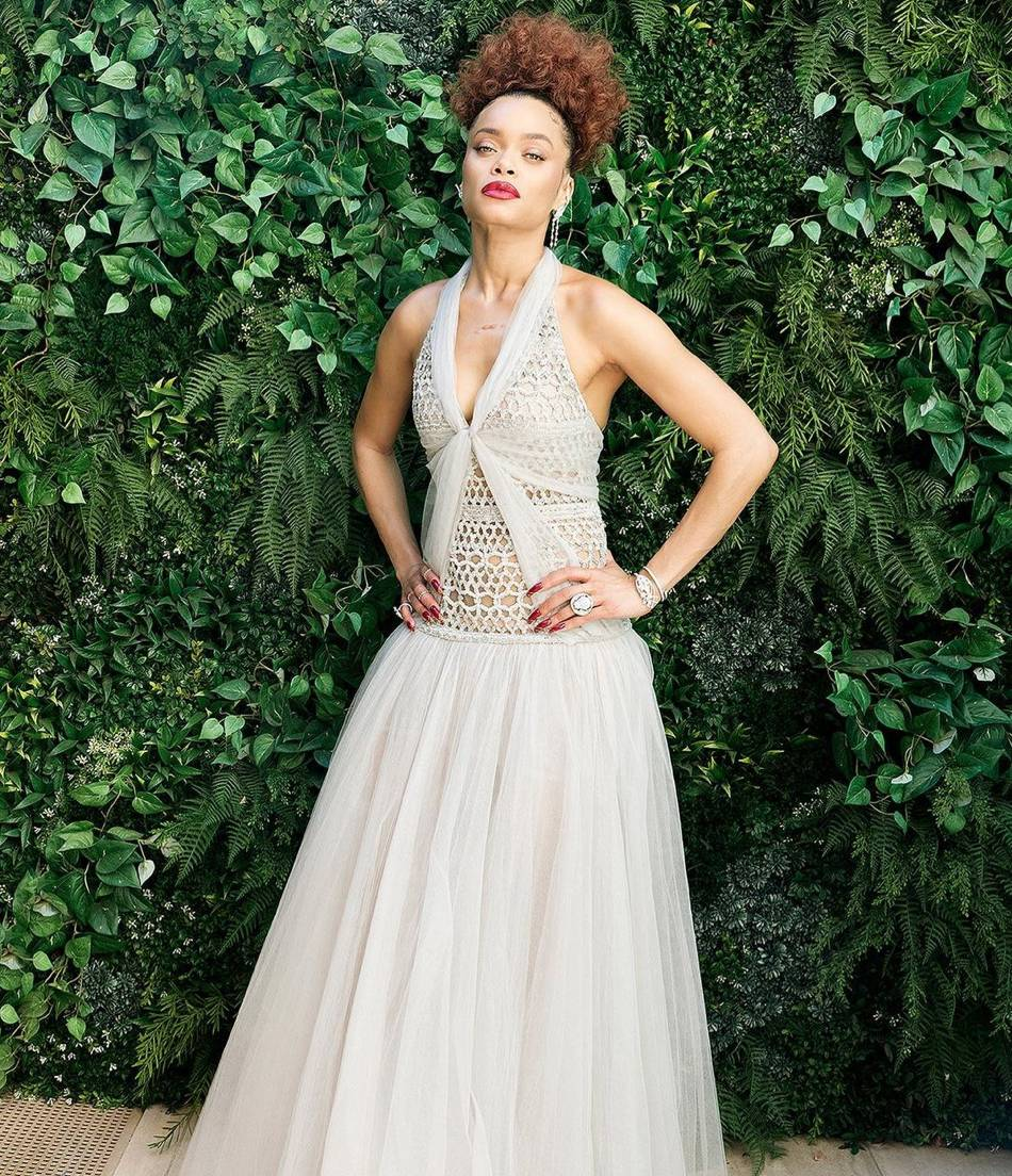 Andra Day at the Golden Globes